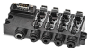 MANIFOLD, MODULAR VALVE, 4-STATION, 1/4 IN. INLET, 5/32 IN. OUTLET -- BVM-3425 -- View Larger Image