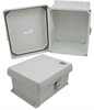 10x8x5 Inch UL® Listed Weatherproof Industrial NEMA 4X Enclosure Only -- NB100805 -Image