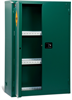 PIG Pesticides Safety Cabinet Self-Closing Door Style, Holds 45 gal., 43