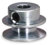 O Ring Pulley,0.88 In OD,1/4 Bore,1GRV -- 1X459 - Image