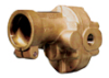 N999RCP - Cole-Parmer Bronze Close-Coupled Industrial Gear Pump Head; Relief/1 GPM -- GO-70738-10