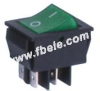 Double-poles Rocker Switch -- IRS-201-2C ON-OFF - Image