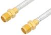 SMA Female to SMA Female Cable 24 Inch Length Using PE-SR402FL Coax, RoHS -- PE33964LF-24 -Image