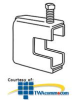 """Erico Wide Mouth Beam Clamp, up to 7/8"""" Flange Size.. -- BC130037EG -- View Larger Image"""