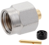 2.92mm Male (Plug) Connector For RG405, RG405 Tinned, .086 SR Cable, Solder, Gold Plated Beryllium Copper Body, Length 0.43 In -- SC5844 -Image