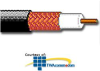 Belden 14 AWG Solid Bare Copper RG-11 CCTV Coaxial Cable.. -- 513945