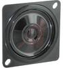 Speaker,Square, 40X40 frame dia. Mylar,4.8nn frame depth, 550+- 20% feq. (Hz) -- 70115728
