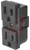 Outlet; Snap-In Mount; 15 A; 125 V; NEMA -- 70133429