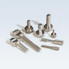 Captive Knurled 45 Degree Cornered Thumb Screw (Captive Thread 45° Corners) -- C18040 - Image
