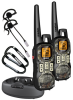 Two Waterproof 40 Mile Range FRS/GMRS Radios -- GMR4099-2CKHS
