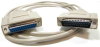 6ft DB25 M/F Null Modem Cable -- NU22-06
