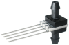 TruStability™ HSC Series-High Accuracy, analog, SIP AA: dual axial barbed ports, opposite sides, differential, ±1 psi, 5.0 Vdc, dry gases only, no special options -- HSCSAAN001PDAA5 -Image