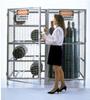 Cabinets - Galvanized Cylinder Storage: Vertical Storage Cabinets -- CYL-T-10