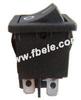 Miniature Rocker Switch -- MRS-201-3 ON-OFF - Image
