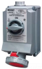 Pin and Sleeve Receptacle with Disconnect -- 330SMI6W