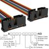 Rectangular Cable Assemblies -- A3KKB-1418M-ND -Image