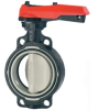 Butterfly Valves  (plastic) -- Hand Operated - Image
