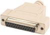 DB25 Female Serial Loopback Adapter -- LB102 - Image