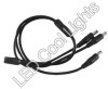 Connectors -- 3 into 1 - Splitter Cable - Image