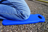 Impacto Blue PVC Foam Kneeling Mat - 7 in Width - 18 in Length - 628167-13501 -- 628167-13501