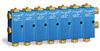 Air Operated Purgex for Liquid, All Liquid Contact Seals Viton, 7 Feeds -- B3162-207