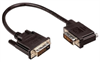 DVI-D Dual Link DVI Cable Male / Male Right Angle,Left 10.0 ft -- MDA00032-10F -Image