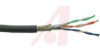Cable, Multipair; 24 AWG; 7x32; Foil Braid Shield; PVC Ins.; 4 PAIRS -- 70005610 - Image