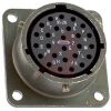 CONNECTOR,MILSPEC BOX MOUNTING RECEPTACLE,CLASS E,26#20 SOLDER SOCKET CONTACT -- 70010940