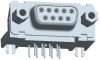 Input-Output Connectors, D-Sub High Performance, Durability (Mating cycles)=Std Class (//200 Mating Cycles) -- DEP09P564CTXLF - Image