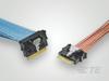 Sliver, SFF-TA-1002, SlimSAS & MCIO Cable Assemblies -- 2821743-2 -Image