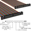 Rectangular Cable Assemblies -- A3KKB-6418M-ND -Image