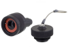 Category 6, Ruggedized RJ45 Plug, Anodized finish, for cable OD .190-.270