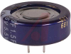 CAPACITOR, ALUMINUM ELECTRONIC (EDL) STACKED COIN, 1.5 F, 5.5 VOLT, MAX RES. 30 -- 70186137
