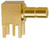 SMB Angle Circuit Board Mount Receptacle -- SMB-PCBAJN - Image