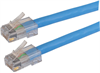 Category 6 LSZH Patch Cable, RJ45 / RJ45, Blue, 75.0 ft -- T6A00009-75F -Image