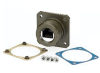 Category 6, Flange Mount, Zinc-Nickel finish with Grounding Shield and Mounting Hardware -- T6C00020