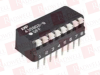 TYCO 5435802-9 ( SWITCH, DIP, 8 POSITION, SPST, PIANO; NO. OF CIRCUITS:8CIRCUITS; CONTACT CONFIGURATION:SPST; SWITCH MOUNTING:THROUGH HOLE; PRODUCT RANGE:7000 SERIES; CONTACT VOLTAGE DC MAX:-; CONT... -Image