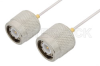 TNC Male to TNC Male Cable 6 Inch Length Using PE-SR047AL Coax -- PE34277-6 -Image
