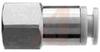 Fitting, Pneumatic; female union, 1/4 inch thread, for 1/4 inch OD tubing -- 70071845