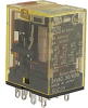 RELAY;4PDT;BIFURCATED CONTACTS;3A;110-120VAC COIL WITH INDICATOR LED -- 70173450