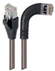 Shielded Category 6 Right Angle Patch Cable, Straight/Right Angle Right, Gray, 30.0 ft -- TRD695SRA7GRY-30 -- View Larger Image