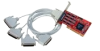Comtrol RocketPort INFINITY Quadcable DB25 -- 30006-9