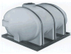 Elliptical Horizontal Bulk Storage Tank -- 8939