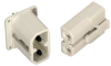 AMPHENOL INDUSTRIAL - C10-638977-000 - CONNECTOR, POWER ENTRY, RECEPTACLE, 69A -- 386430 - Image