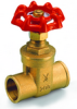 Brass Gate Valve -- s. 115 sweat end