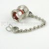 BNC Male Open Circuit Connector Cap with 2.76 Inch Chain -- SC2009 -Image
