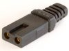 Polarized Connector, 2.3/2.6 Dia. Contacts -- UC-03E