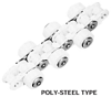 Outboard Roller Chain Poly-Steel Series -- RF40PC 2L PSRE-H-RP -Image