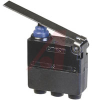 Switch,SUBMINI.,Snap Action,Sealed,12VDC,SPDT,LEAD WIRE,POST ON RIGHT,LONG HINGE -- 70175314