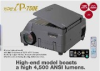 4,500 Lumen Projector w/ 2-million pixel camera & USB image capture -- iP-750E